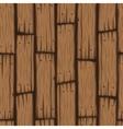 wooden block seamless pattern vector image