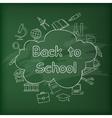 School blackboard Green vector image vector image