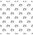 drum kit pattern vector image
