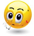 smiley cartoon vector image vector image