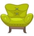 Cartoon home furniture chair vector image
