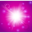 Abstract magic light pink background vector image