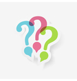 Question Marks vector image