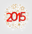 New Year Poster vector image