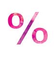 percent vector image