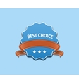 Best Choice Sign vector image