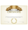 Modern Certificate and diplomas template vector image