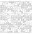 Urban camo pattern - gray pixels vector image