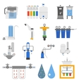 Water filters set vector image