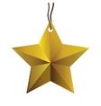 star ornament icon image vector image