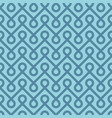 blue linear weaved seamless pattern vector image
