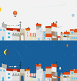Abstract city map set Ftat design vector image vector image