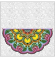 pattern in ukrainian oriental ethnic style for vector image