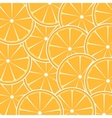 Orange fruit abstract background vector image