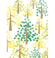 The Pines vector image vector image