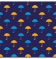 umbrella pattern vector image vector image