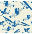 planes pattern vector image
