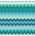 Teal chevron seamless pattern vector image