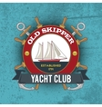 Nautical Emblem Vintage vector image