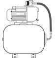 Compressor vector image vector image