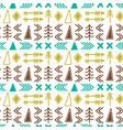 scandinavian pattern seamless ethnic pattern vector image