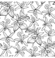 Graphic vanilla pattern vector image