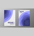 Business brochure design cover design vector image