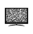 Tv simple icon vector image
