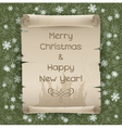 Congratulations to the Christmas and New Year vector image vector image