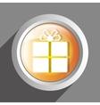 gift icon symbol design vector image