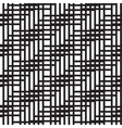 Abstract seamless pattern of lines vector image