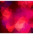 Pink purple abstract background polygon vector image
