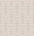 vintage lace seamless pattern vector image