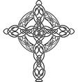 celtic cross2 vector image