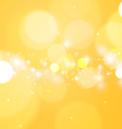 Bright Abstract Yellow Background vector image