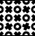 texture tic tac toe vector image