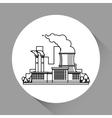 Industry design Factory icon Flat vector image
