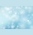 abstract spring summer bokeh light blue vector image