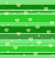 holiday seamless pattern green vector image