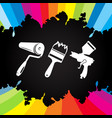 paint tool vector image