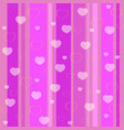 holiday seamless pattern pink vector image
