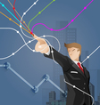 Business and financial concept vector image