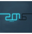 2016 Loading vector image vector image