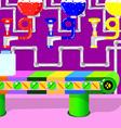 Color factory vector image