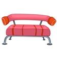 Cartoon home furniture sofa Vector Image