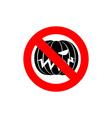 Stop Halloween It is forbidden to celebrate the vector image