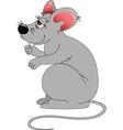 Cartoon mouse vector image