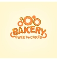 editable Bakery logo vector image