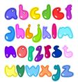 small letters vector image vector image
