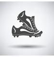 Baseball boot icon vector image